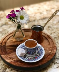 turkish coffee with lokum